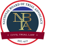 National board of trail advocacy | civil trail law | est. 1977